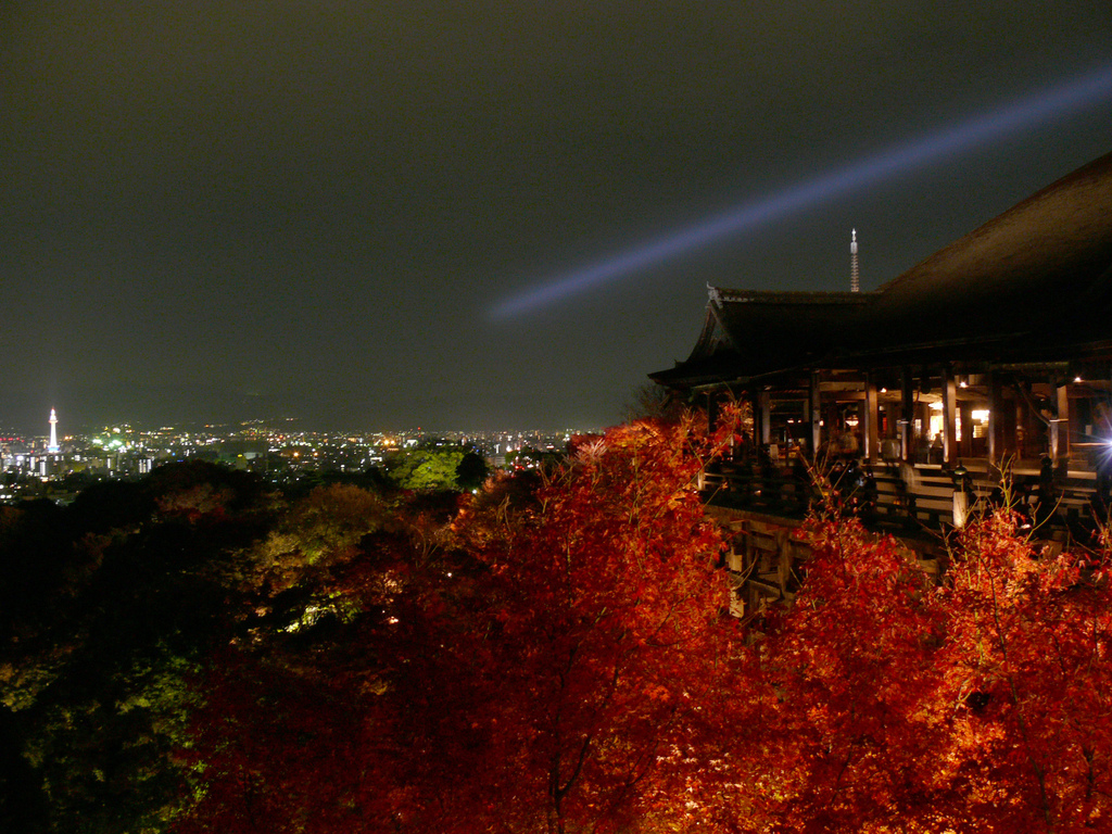 "Tempio Kiyomizu-dera. Foto di <a href=""http://www.flickr.com/photos/alaw168/"" target=""_blank"">Not Quite a Photographr</a>, licenza Creative Commons"