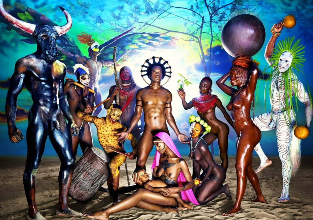 Nativity - David LaChapelle