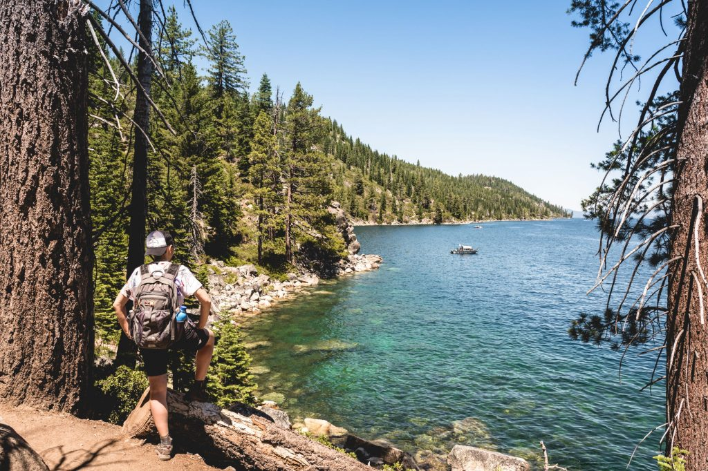 Rubicon Trail, a poca distanza dal faro di Rubicon Point (foto di Cristian Prola)